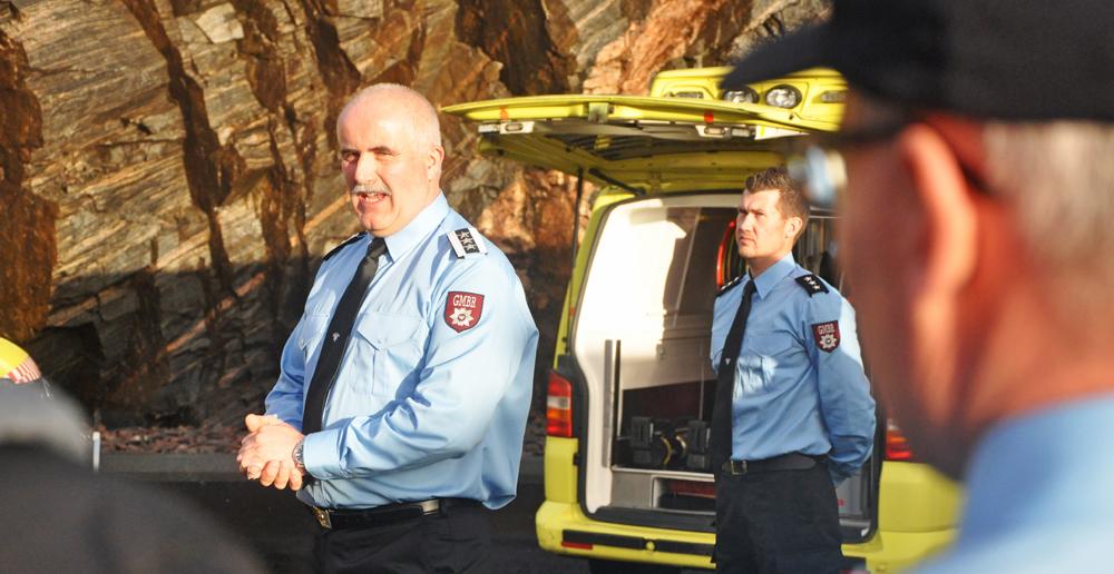 Brannsjef i Gulen og Masfjorden brann og redning, Sigvald Kvinge